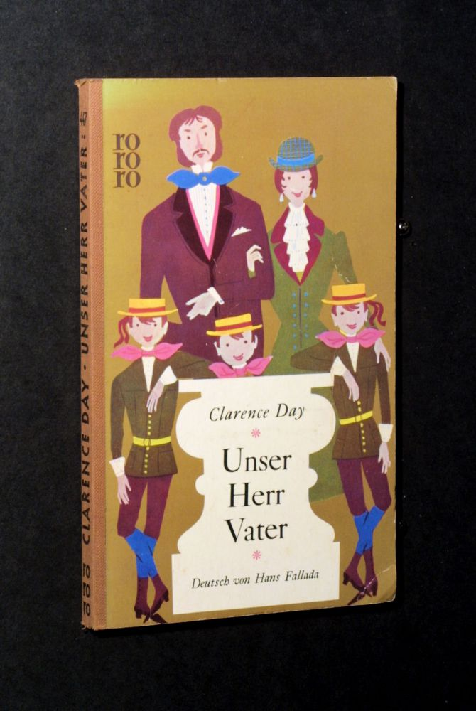 Clarence Day - Unser Herr Vater - Buch