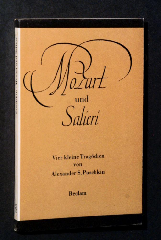 Alexander Sergejewitsch Puschkin - Mozart und Salieri - Buch