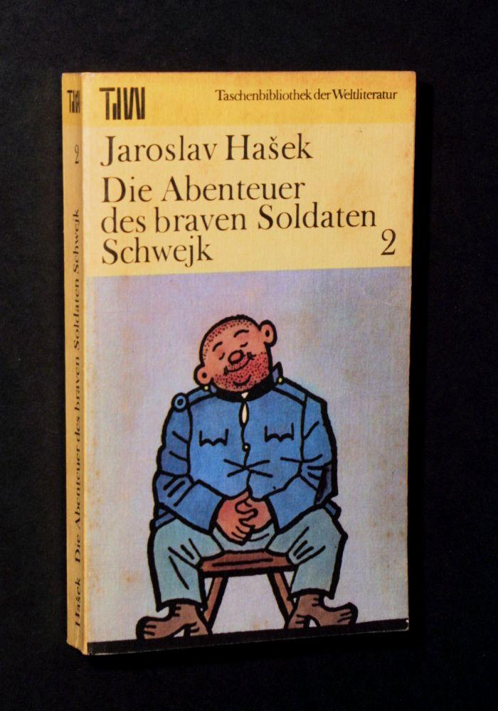 Jaroslav Hasek - Die Abenteuer des braven Soldaten Schwejk - Buch