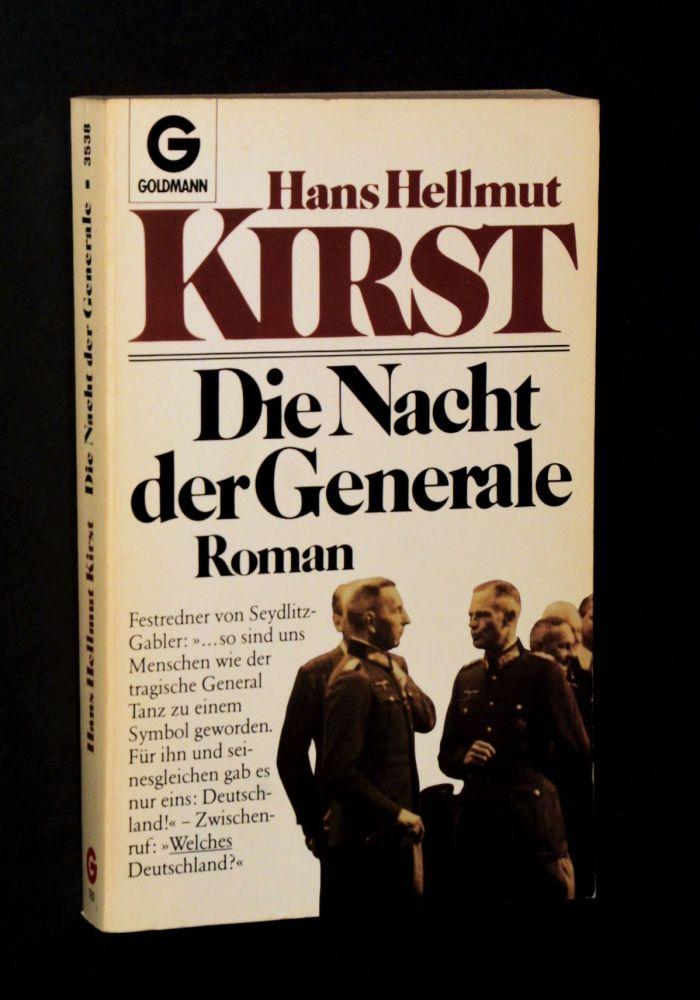 Hans Hellmut Kirst - Die Nacht der Generale - Buch