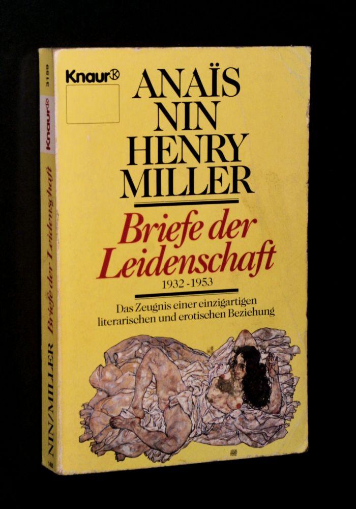 Anaïs Nin & Henry Miller - Briefe der Leidenschaft - Buch