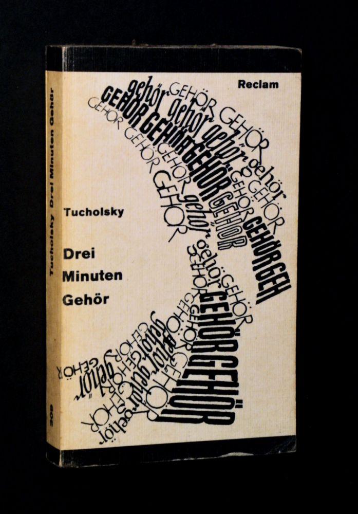 Kurt Tucholsky - Drei Minuten Gehör - Buch