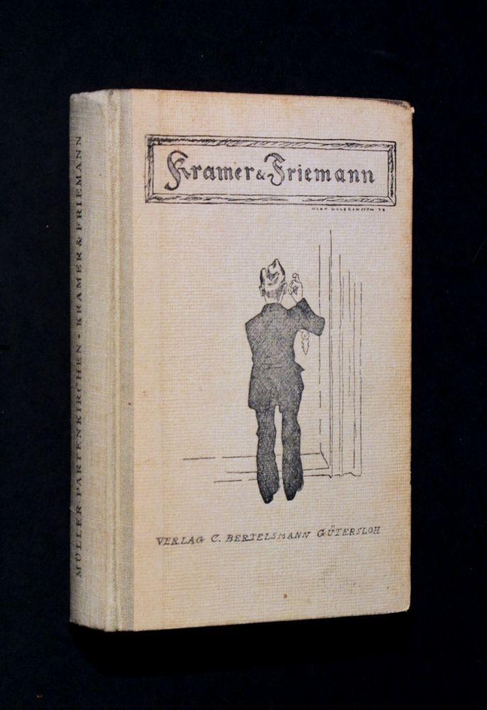 Fritz Müller-Partenkirchen - Kramer & Friemann - Buch