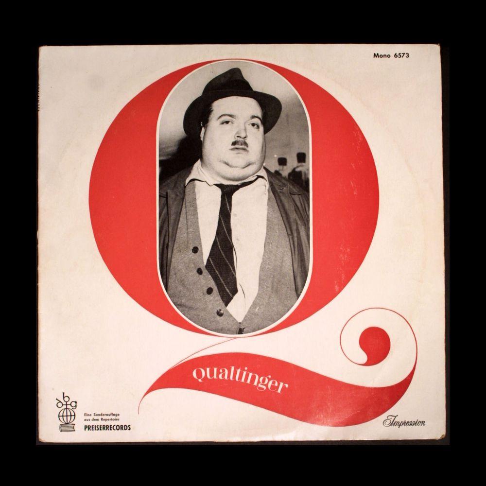 Helmut Qualtinger - Qualtinger - Vinyl