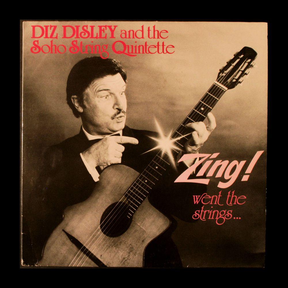 Diz Disley and the Soho String Quartett - Zing! Went The Strings - Vinyl