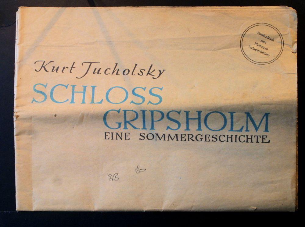 Kurt Tucholsky - Schloß Gripsholm - Zeitung