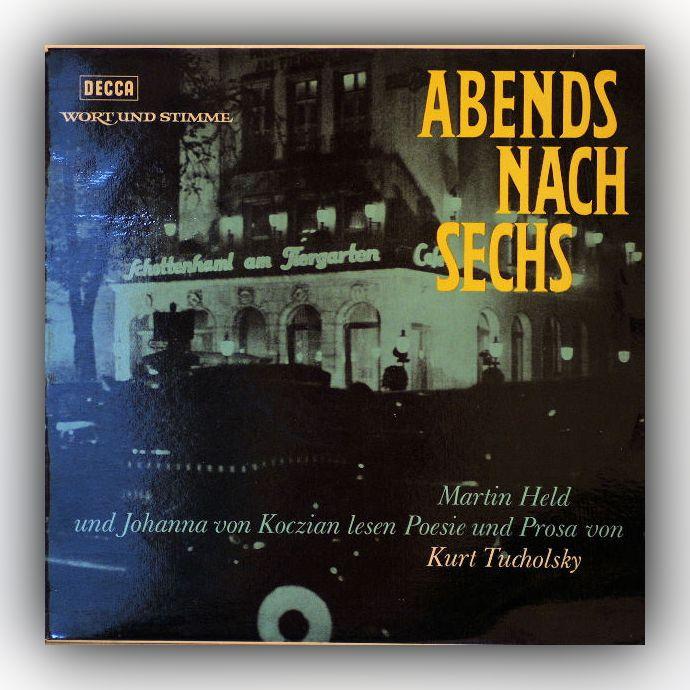 Kurt Tucholsky - Abends nach sechs - Vinyl