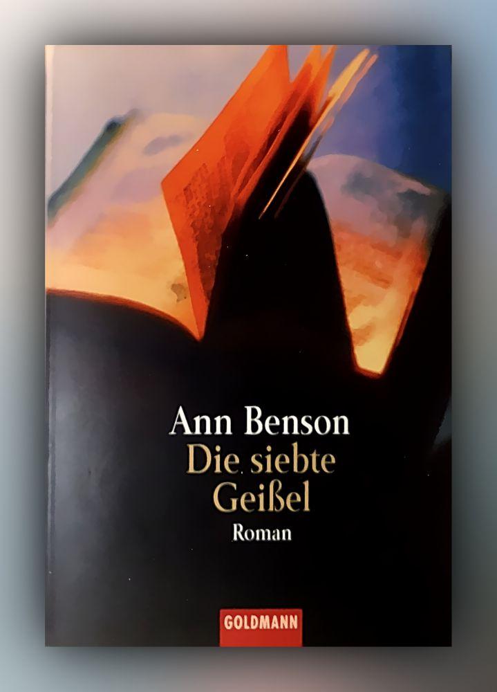Ann Benson - Die siebte Geißel - Buch