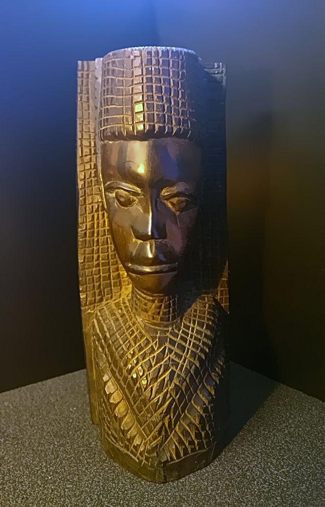 Afrikanische Holzfigur Frauenbüste