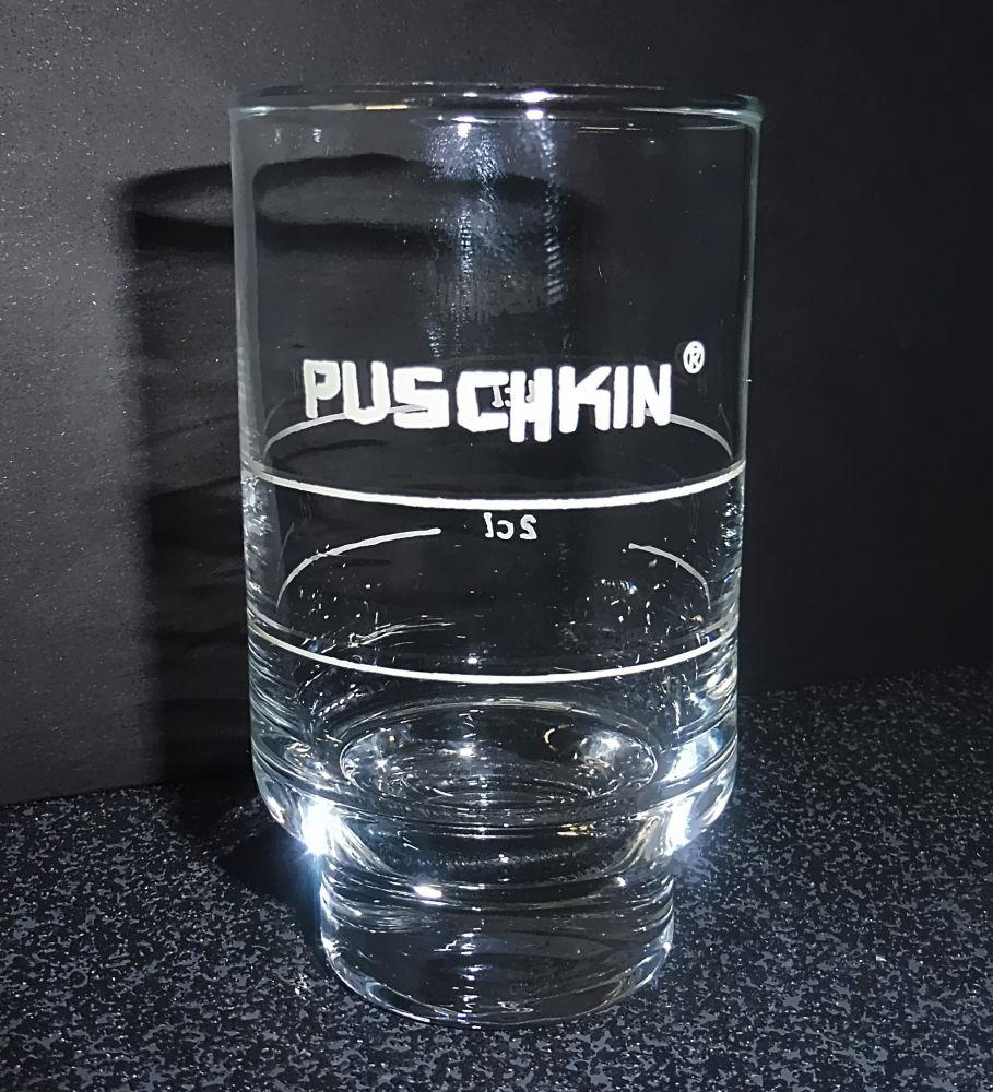 Wodkaglas Puschkin