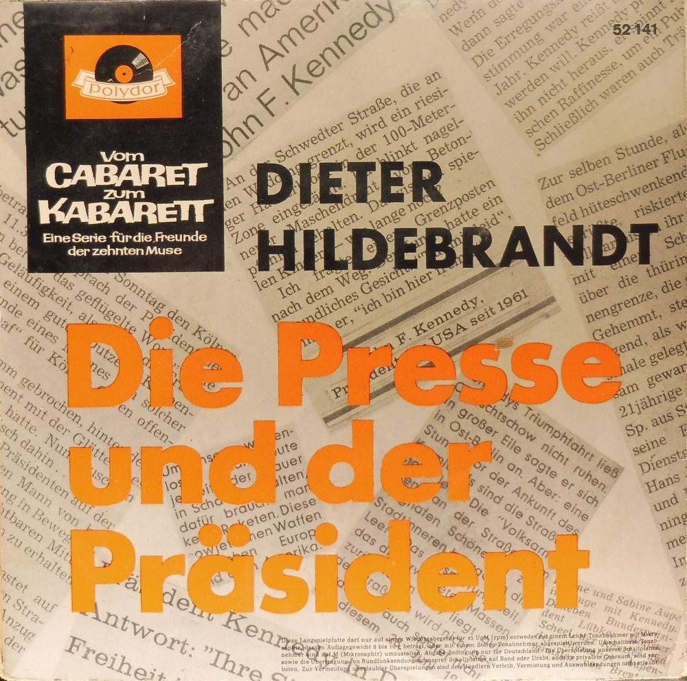 Dieter Hildebrandt - Die Presse und der Präsident - Vinyl