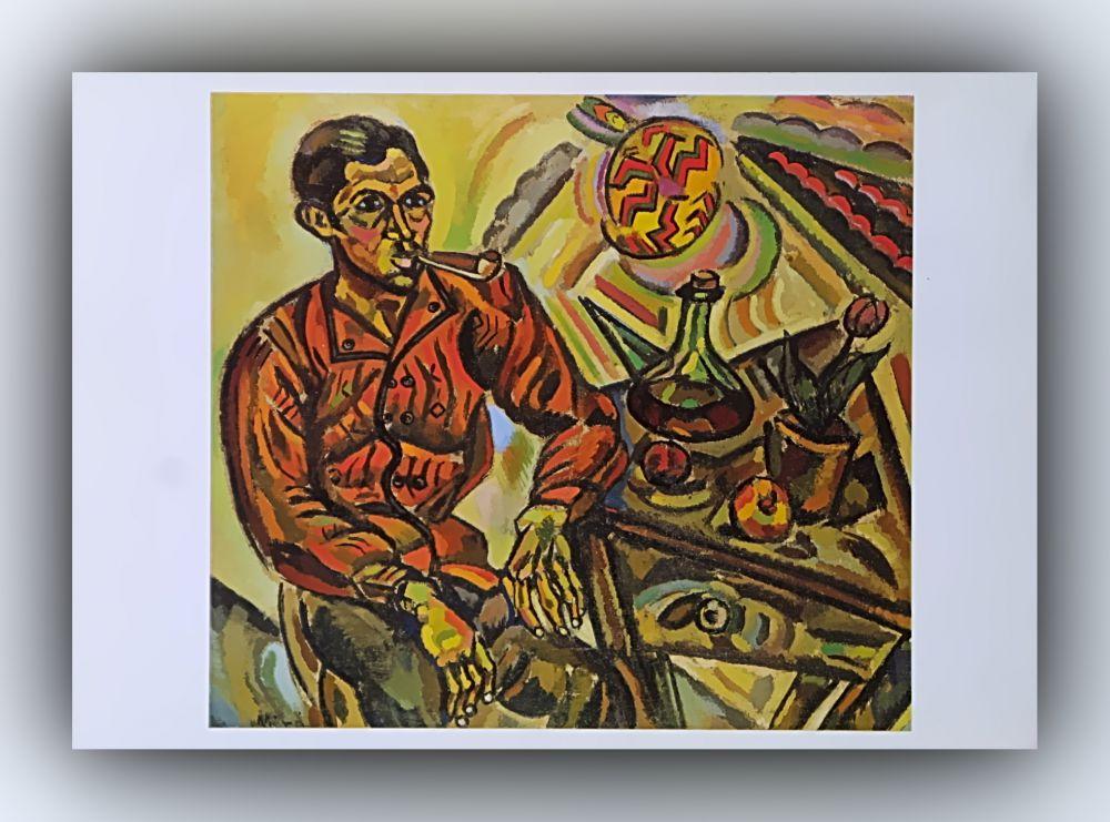 Joan Miró - Bildnis von V. Nubiola - Postkarte