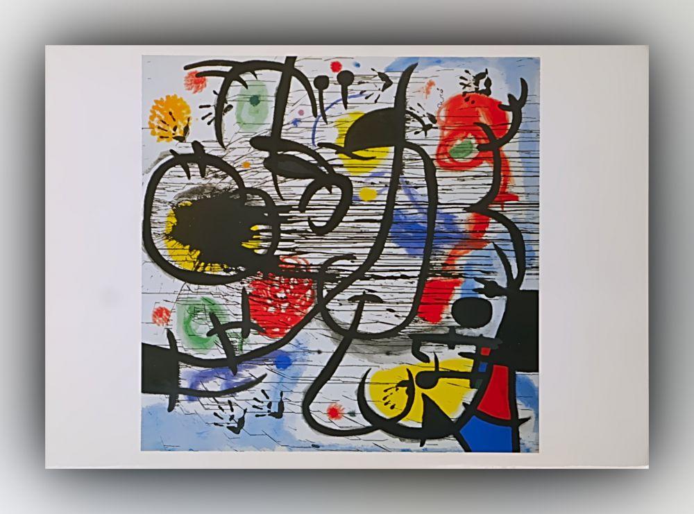 Joan Miró - Mai 1968 - Postkarte