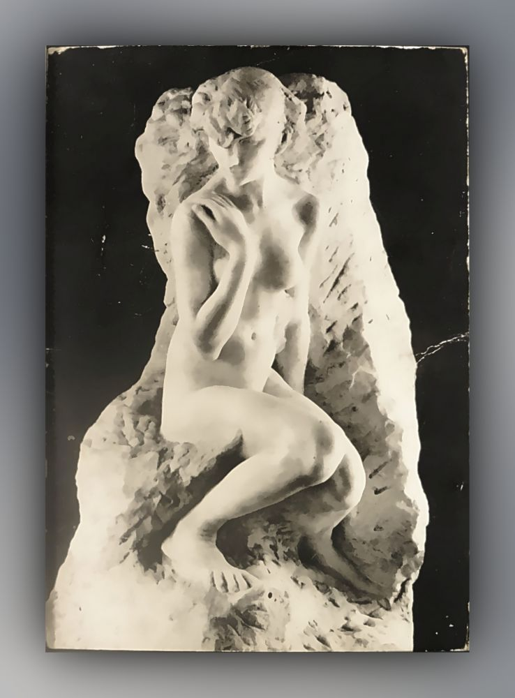 Auguste Rodin - Galatée, vers 1890, marbre - Postkarte
