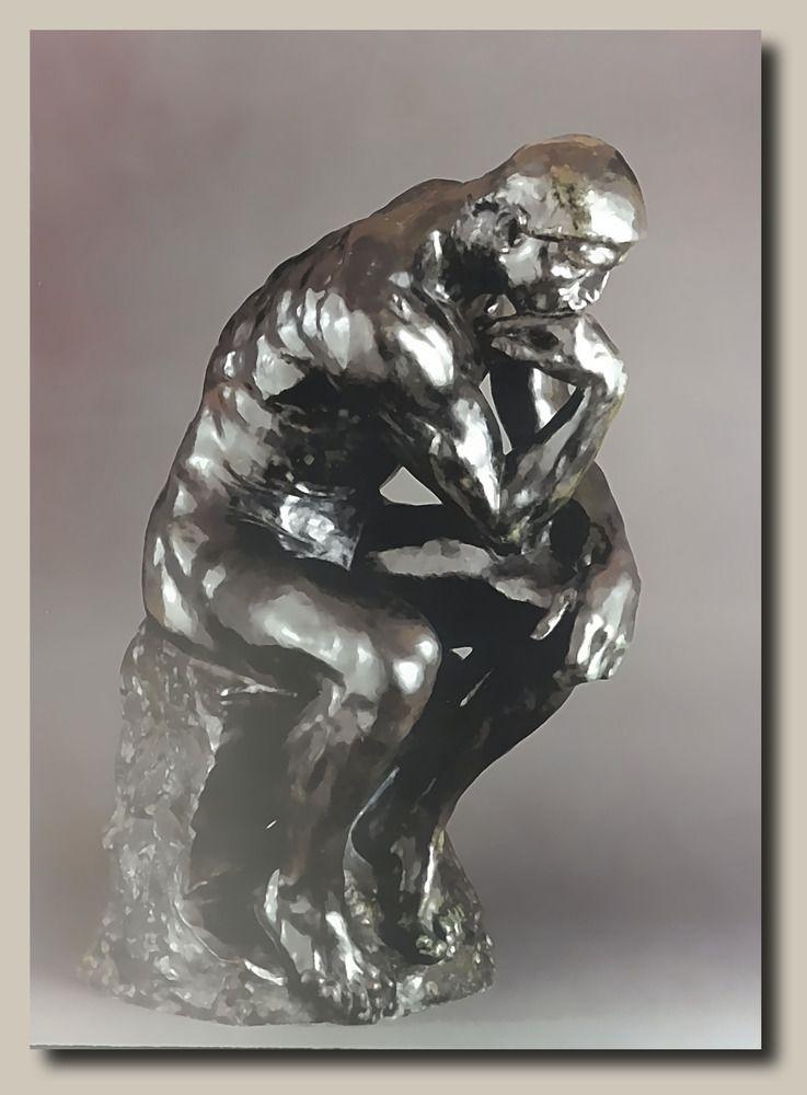Auguste Rodin - 10 Doppelkarten mit Umschlag im Pappschuber - Postkarte