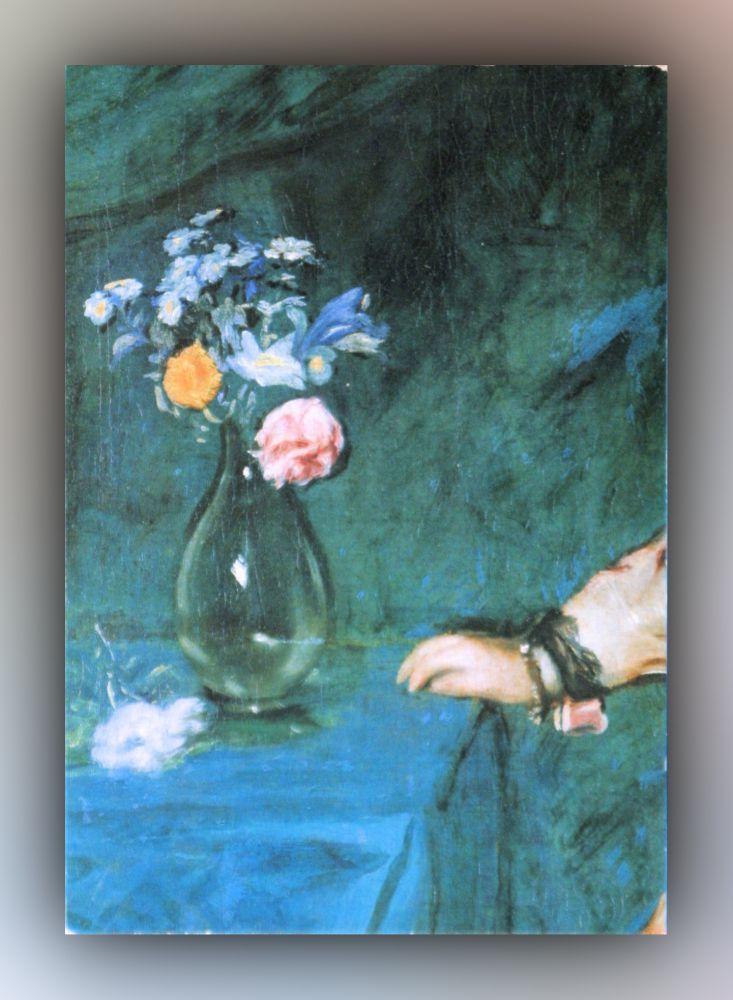 Diego Velázquez - Infantin Margarete (Detail) - Postkarte