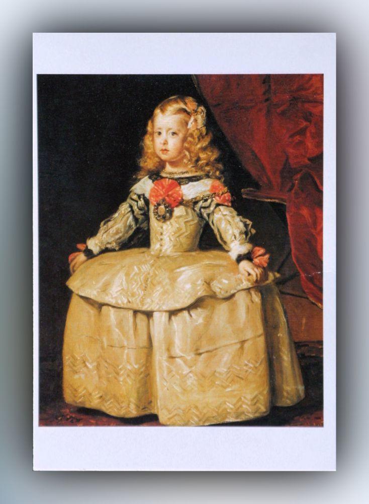 Diego Velázquez - Infantin Margarete - Postkarte