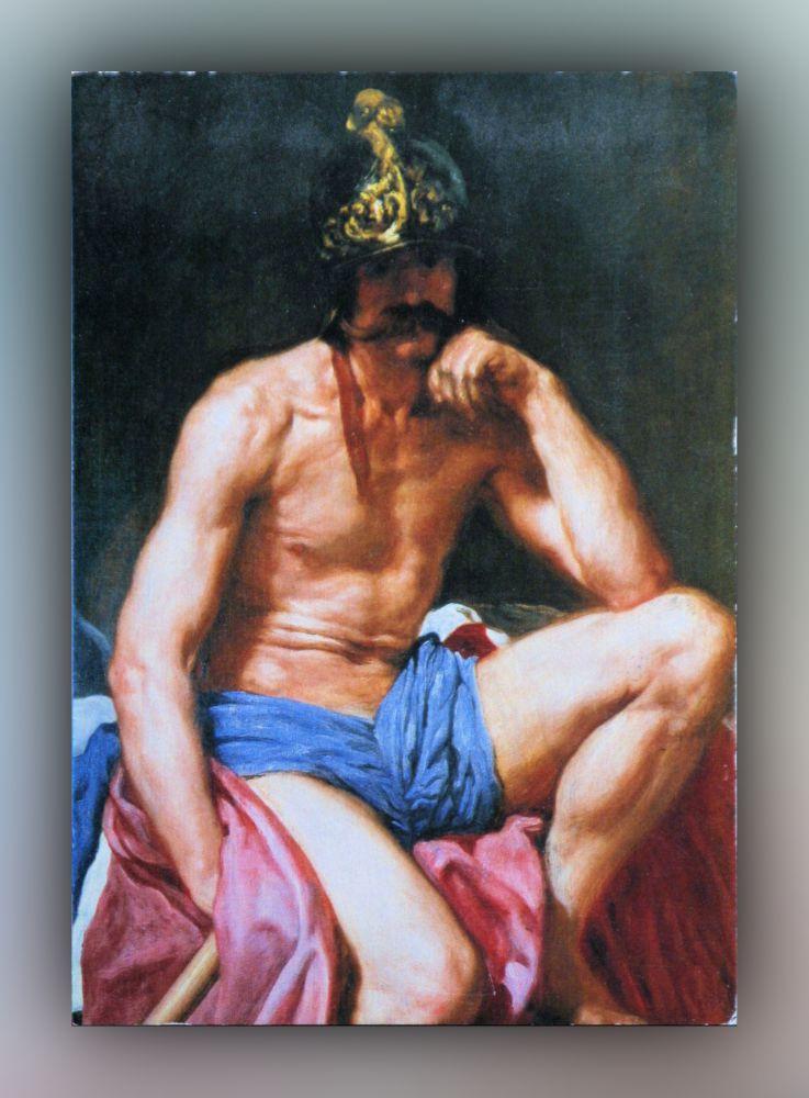 Diego Velázquez - Mars (Detail) - Postkarte