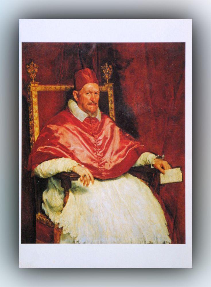 Diego Velázquez - Innozenz X. - Postkarte