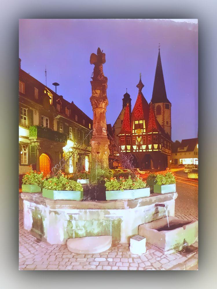 612 Michelstadt - Rathaus aus dem Jahre 1484