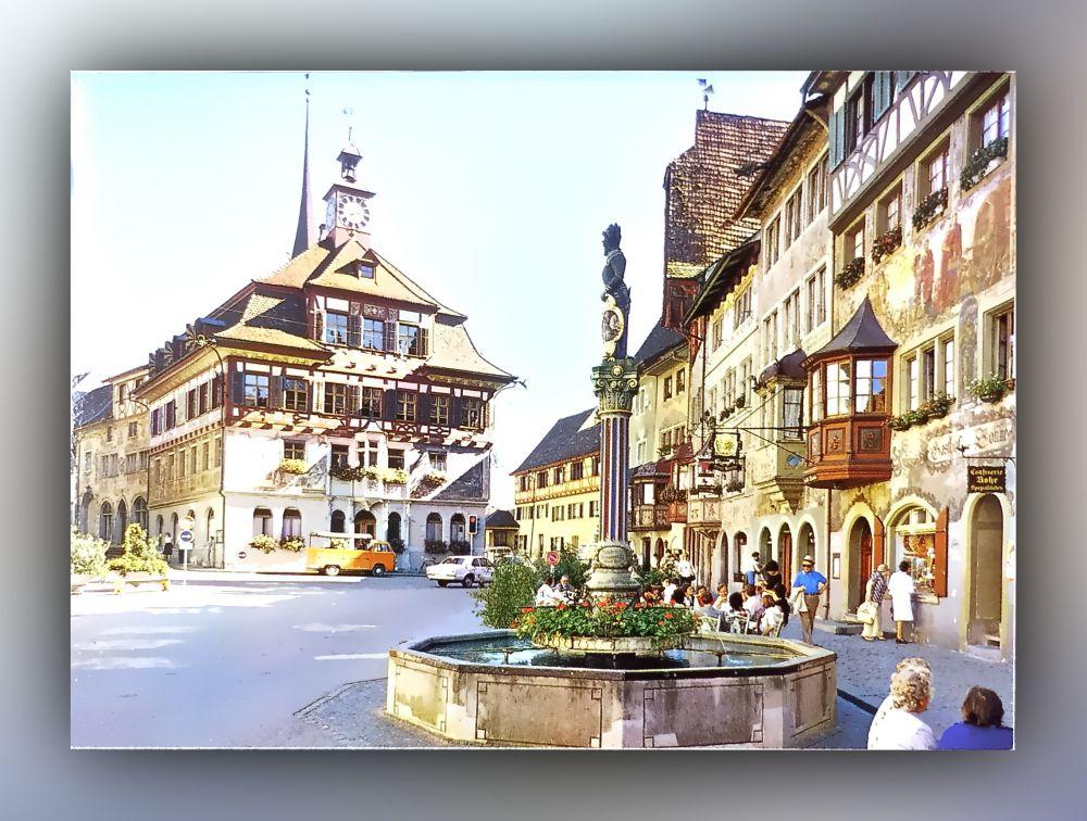 Stein am Rhein - Rathausplatz