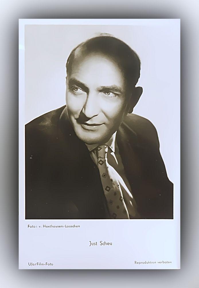 Portrait Just Scheu (1903 - 1956)