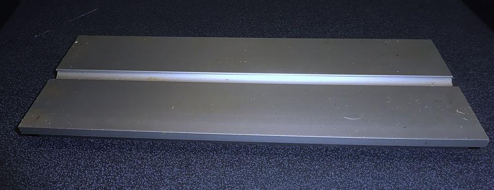 Aluminium Profil Spannplatte 130 x 29 x 346 mm