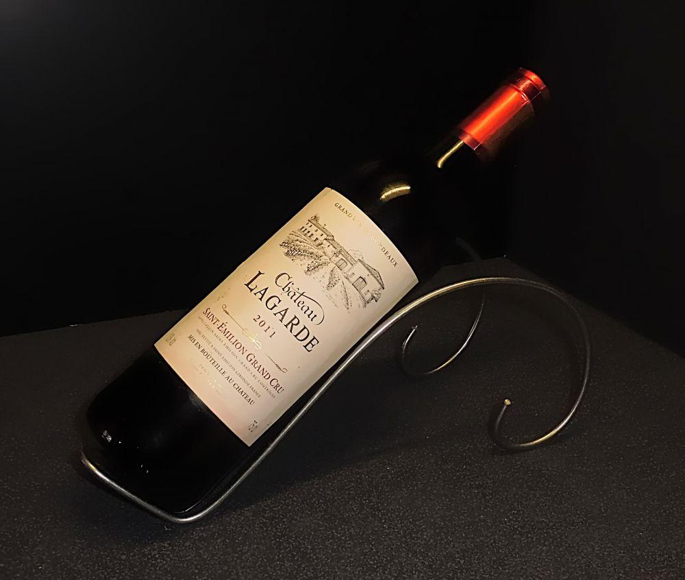 3 Edelstahl Weinständer für den Tisch oder Schaufenster