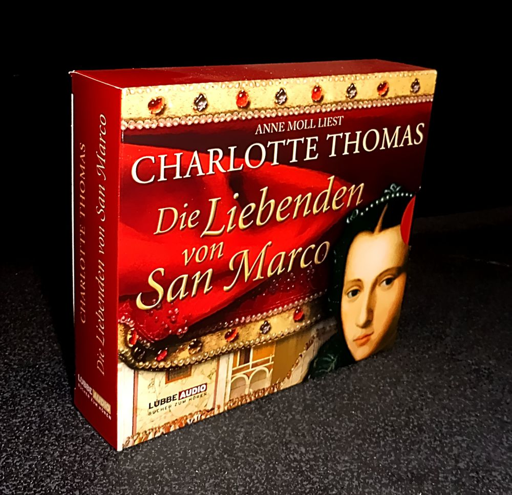 Charlotte Thomas - Die Liebenden von San Marco - CD