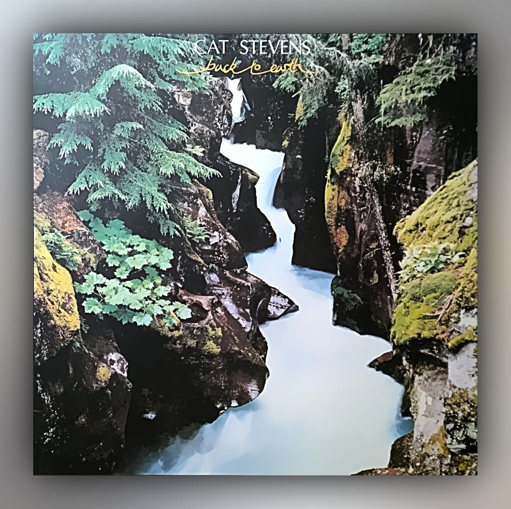 Cat Stevens - Back to Earth | Mit Poster - Vinyl