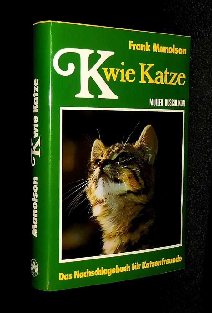 Frank Manolson - K wie Katze - Buch