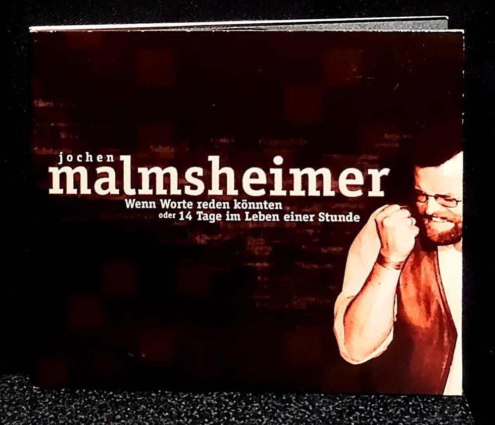 Jochen Malmsheimer - Wenn Worte reden könnten oder 14 Tage im Leben einer Stunde (signiert) - CD