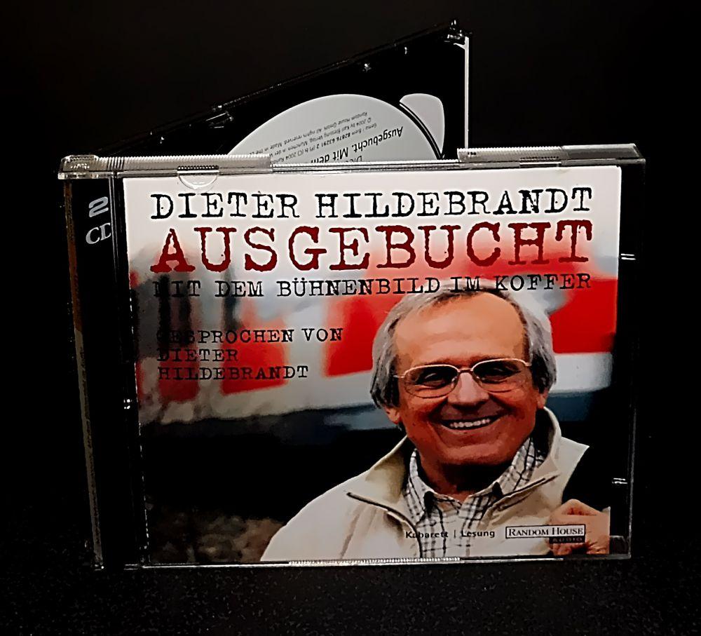 Dieter Hildebrandt - Ausgebucht - Mit dem Bühnenbild im Koffer (signiert) - CD