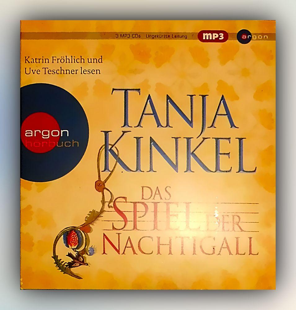 Tanja Kinkel - Das Spiel der Nachtigall - CD