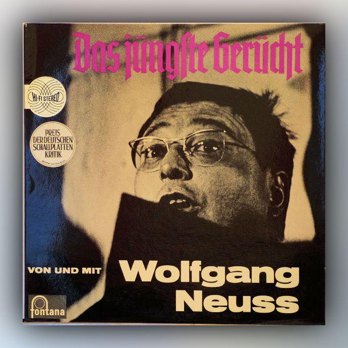 Wolfgang Neuss - Das jüngste Gerücht - Vinyl