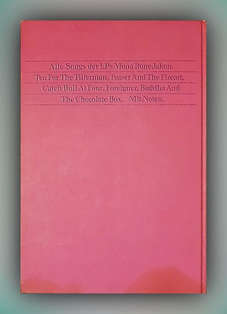 Cat Stevens - Songbook - 56 Songs mit Noten