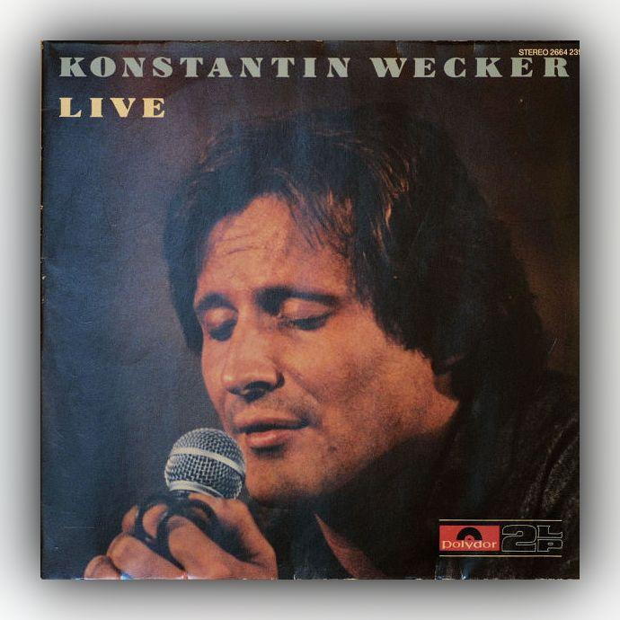 Konstantin Wecker - Live - Vinyl