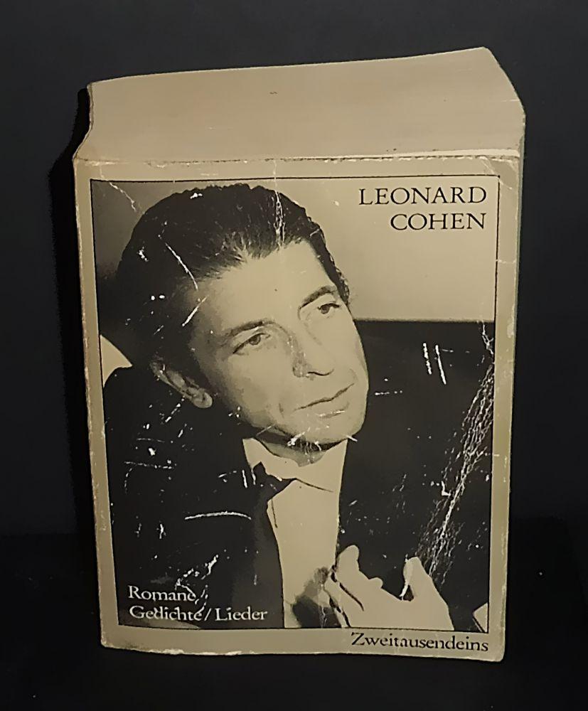 Leonard Cohen - Romane Gedichte / Lieder - Buch