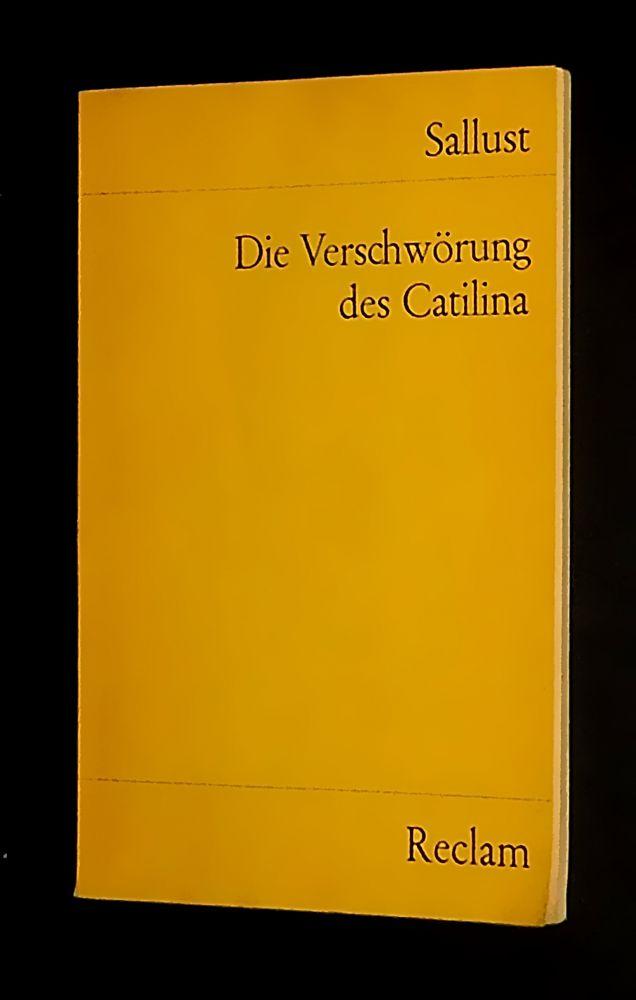 Sallust - Die Verschwörung des Catilina - Buch