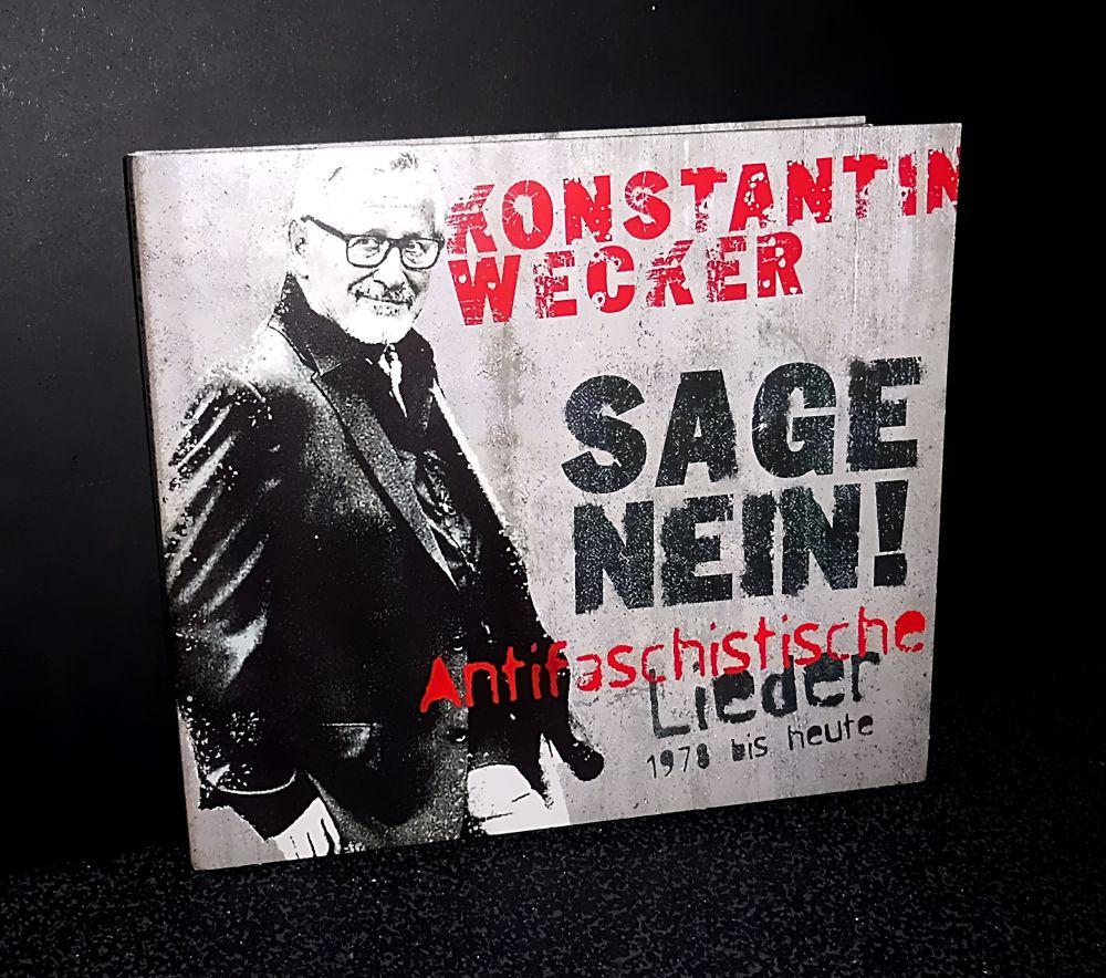 Konstantin Wecker - Sage Nein! Antifaschistische Lieder 1978 bis heute - CD
