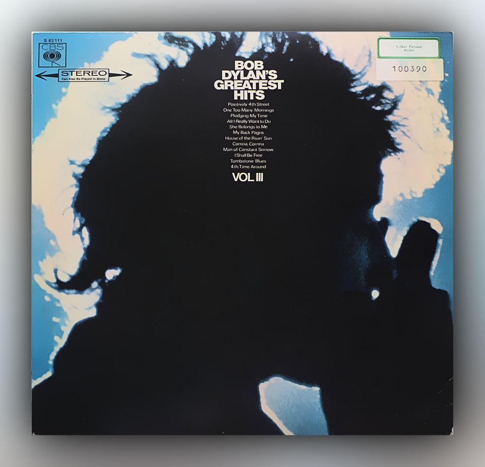 Bob Dylan - Bob Dylan's Greatest Hits Vol. III - Vinyl