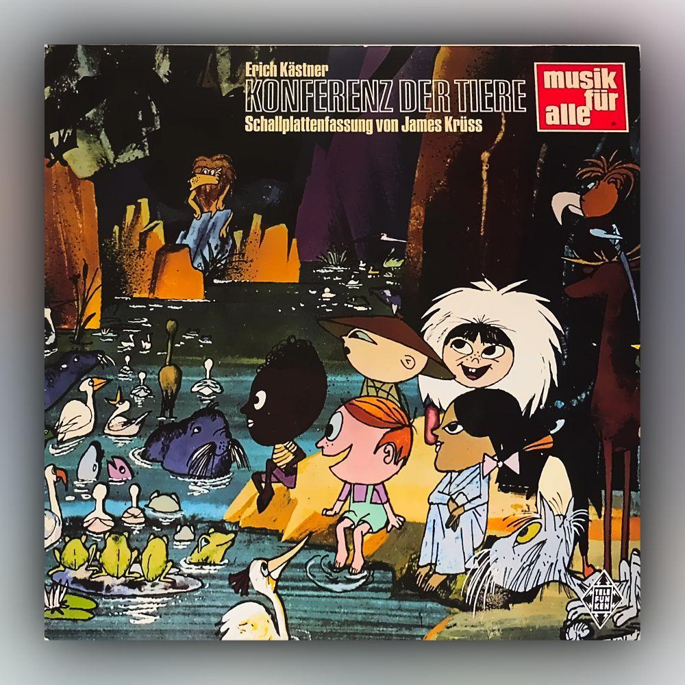 Erich Kästner - Konferenz der Tiere - Vinyl