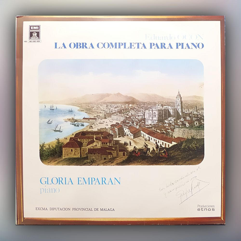 Eduardo Ocón - La Obra Completa Para Piano - Vinyl