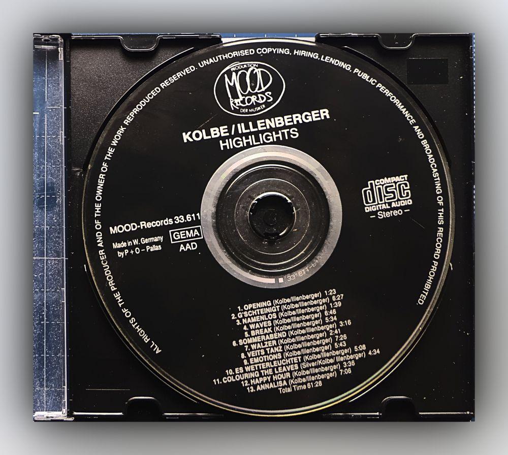 Martin Kolbe & Ralf Illenberger - Highlights - CD