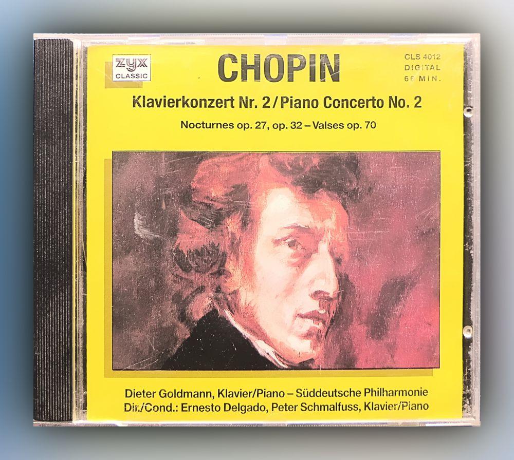 Fryderyk Chopin - Klavierkonzert Nr. 2, Nocturnes Op. 27, Op. 32 - Valses Op. 70 - CD