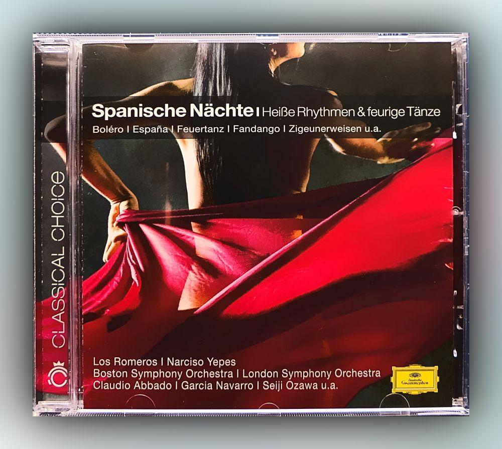 Various Artists - Spanische Nächte - Heiße Rhythmen & feurige Tänze - CD