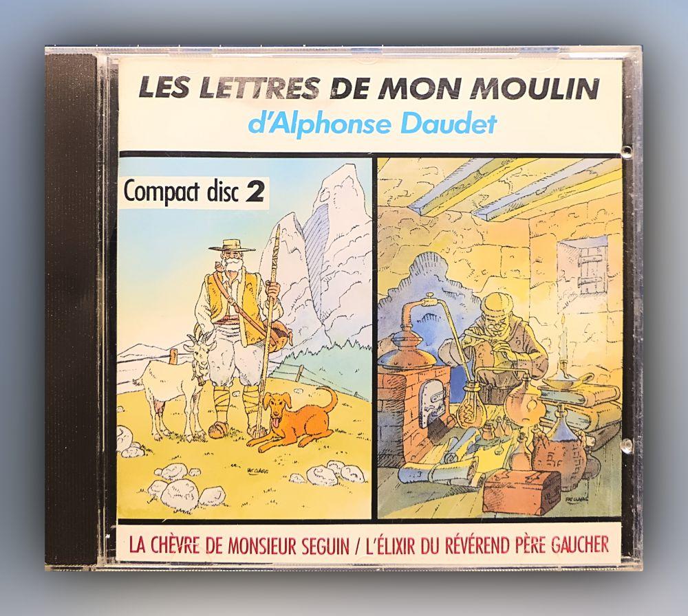 Alphonse Daudet - Les Lettres de mon Moulin Volume 2 - CD