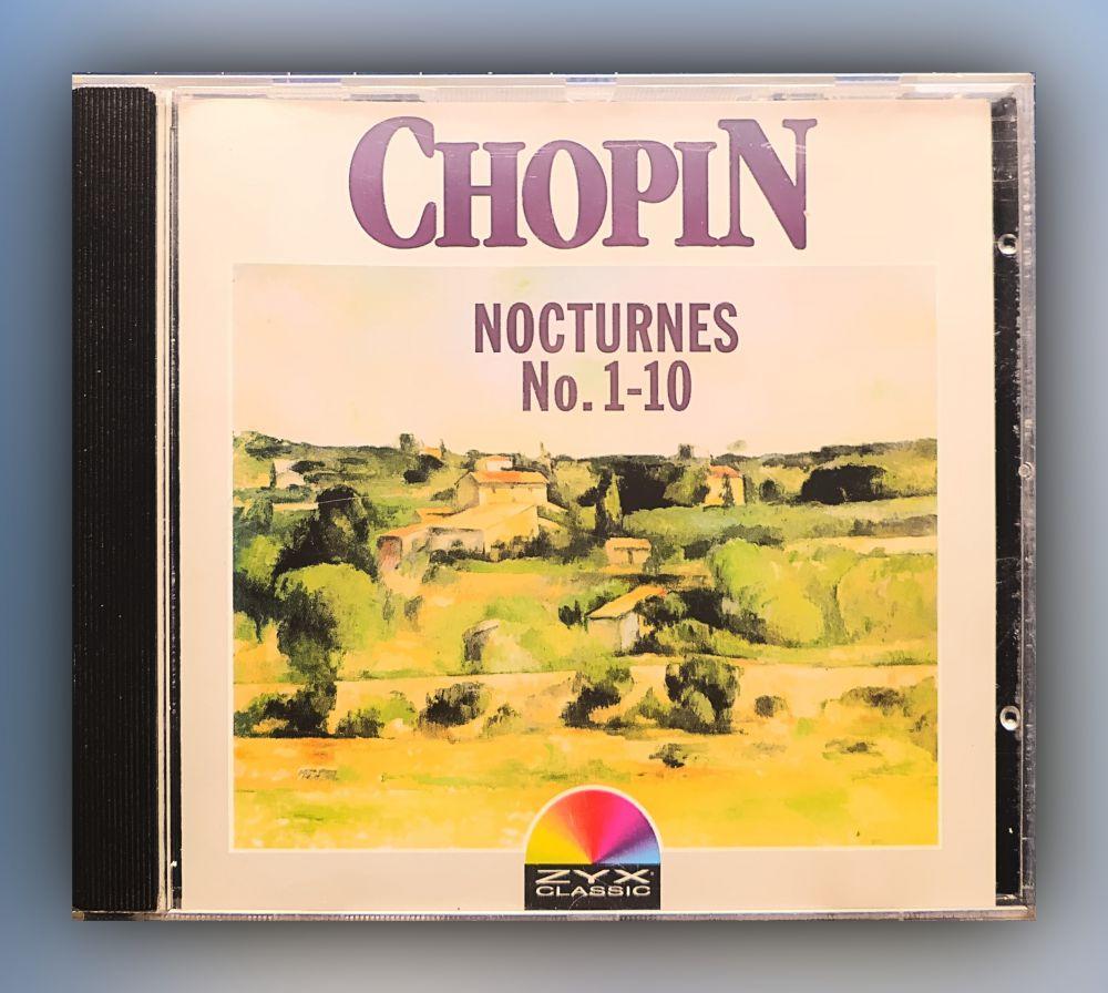 Fryderyk Chopin - Nocturnes No. 1-10 (Peter Schmalfuß, Piano) - CD
