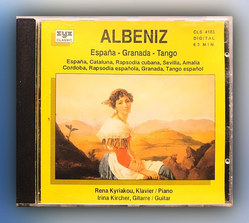 Isaac Albéniz - Espana - Ganada - Tango - CD