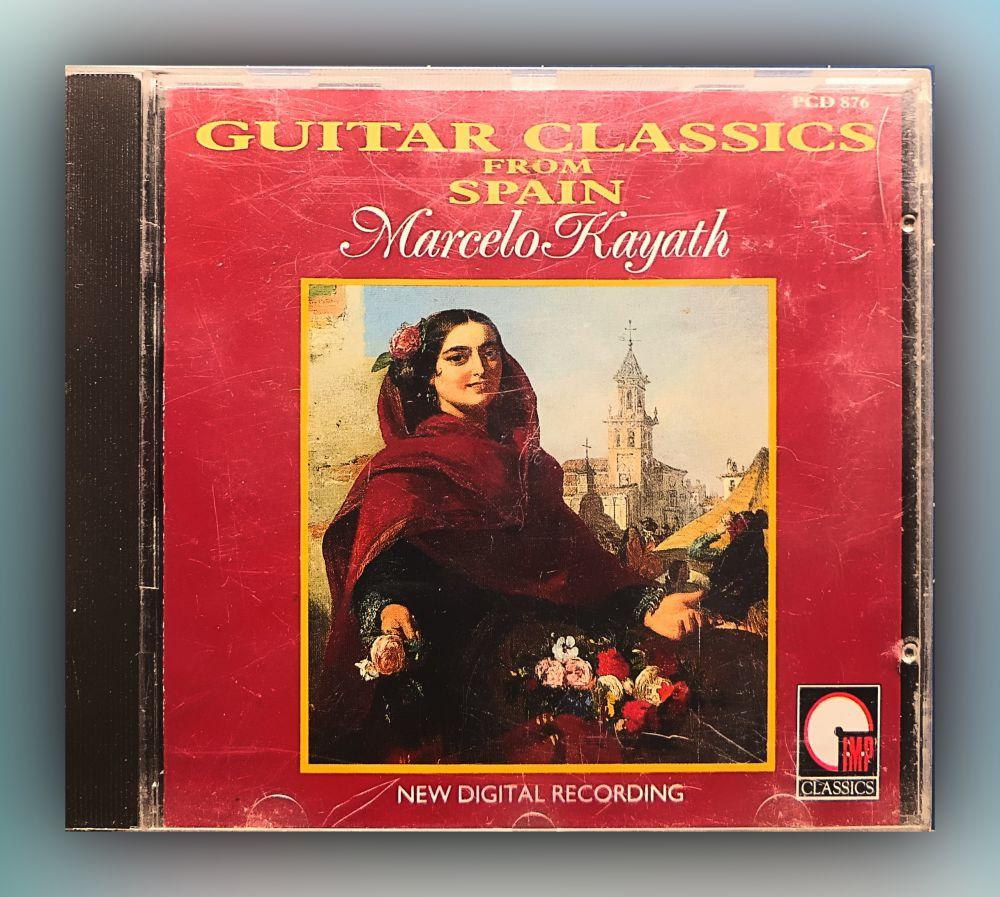 Marcelo Kayath - Guitar Classics from spain - CD